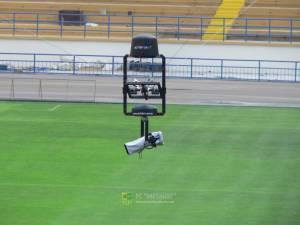 Hoy conocemos la Spidercam, esa cámara que da planos perfectos y llama la atención de todos.