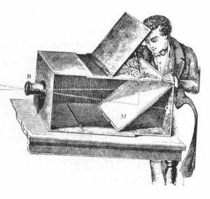 primera cámara de la historia de la producción audiovisual.