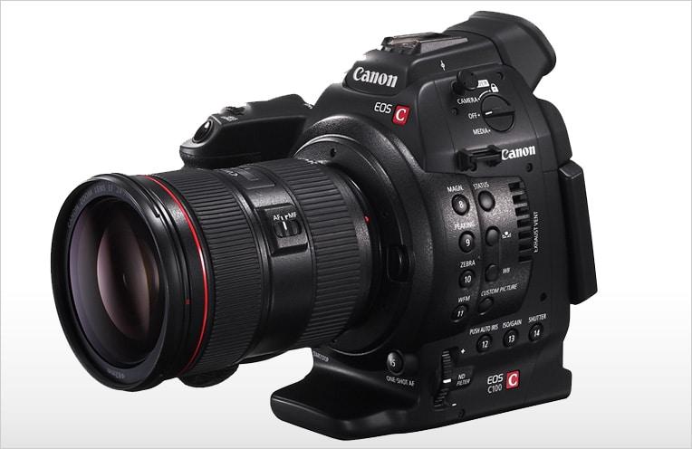 Camara Canon EOS C100
