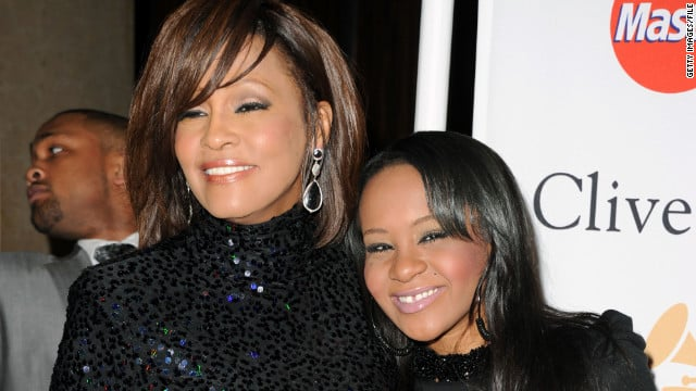 whitney houston y su hija