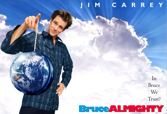 "Curiosidades de la pelicula ""Como Dios"" de Jim Carrey."