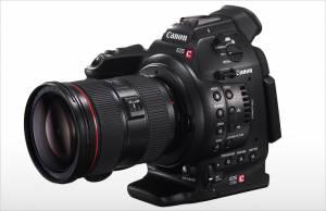 Características de la cámara de producción audiovisual Canon EOS C100.